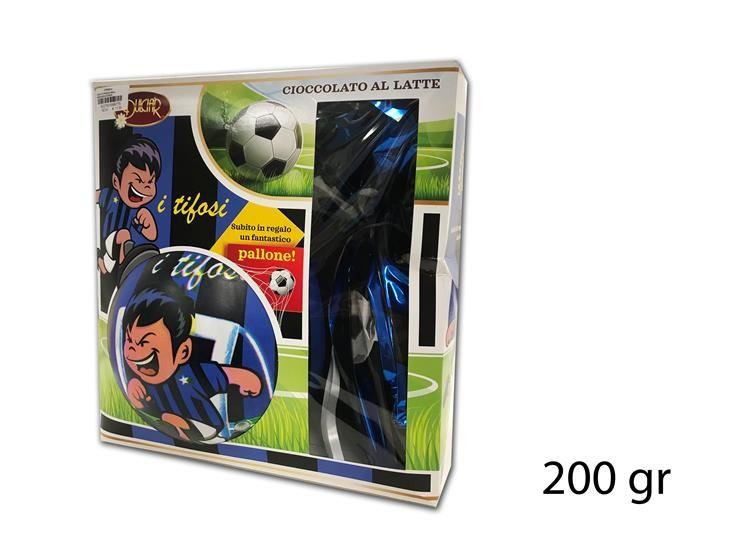 UOVO DI PASQUA BALL NERO/AZZUR 200GR DBTI200LE