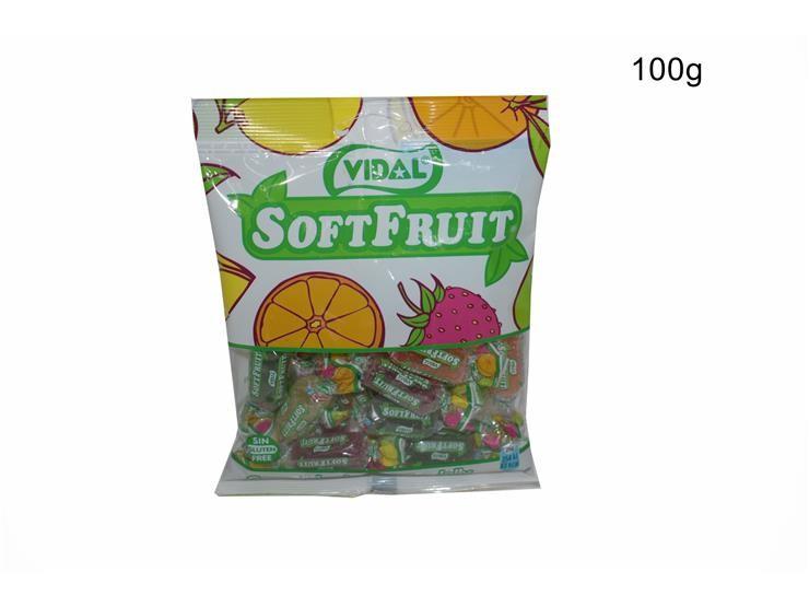 *CARAMELLE 100GR  SOFT FRUIT 1008454@