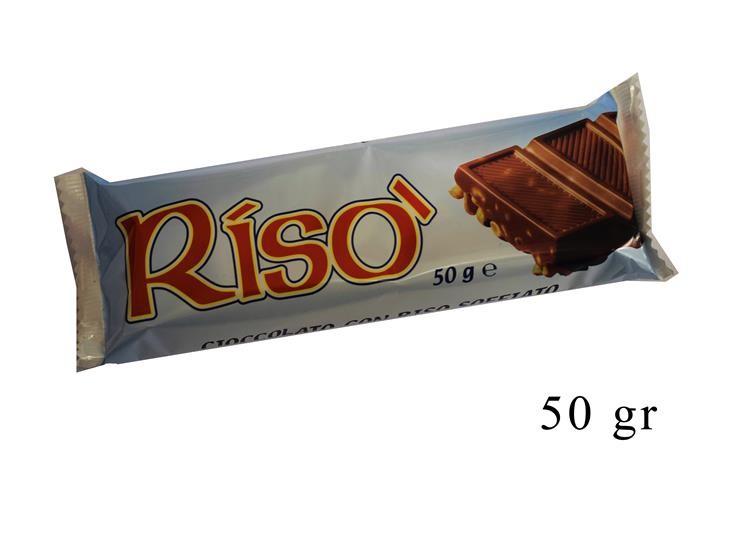 *LONA RISO' CIOCCOLATO/LATTE 50GR 0001146@