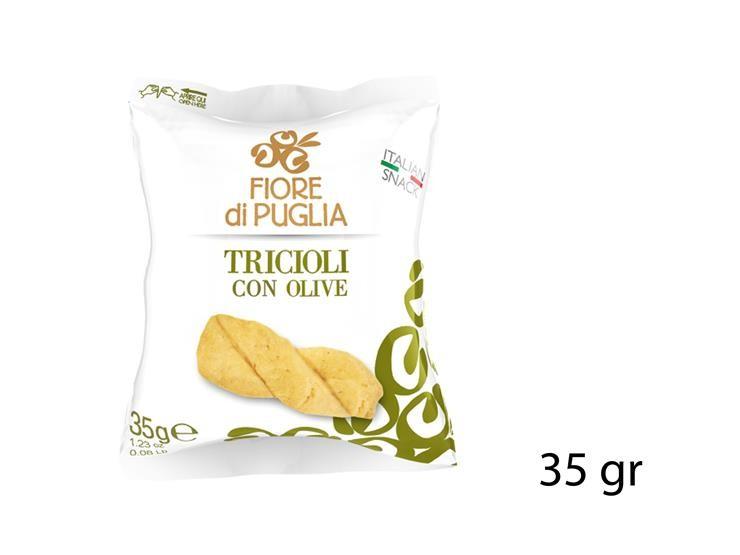 *TRICIOLI CON OLIVE 35GR@