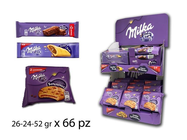 EXPO MILKA MIX 26-52GR 66PZ 4081644