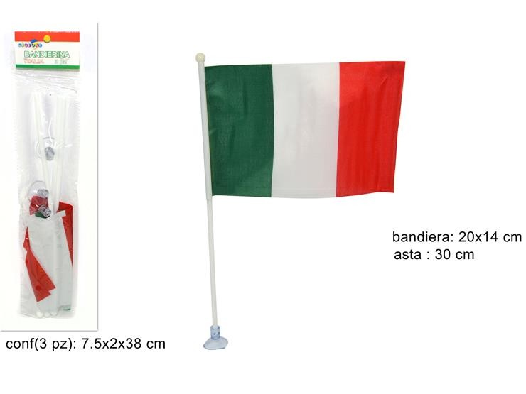 TRIS BANDIERINA ITALIA 3PZ SF2090