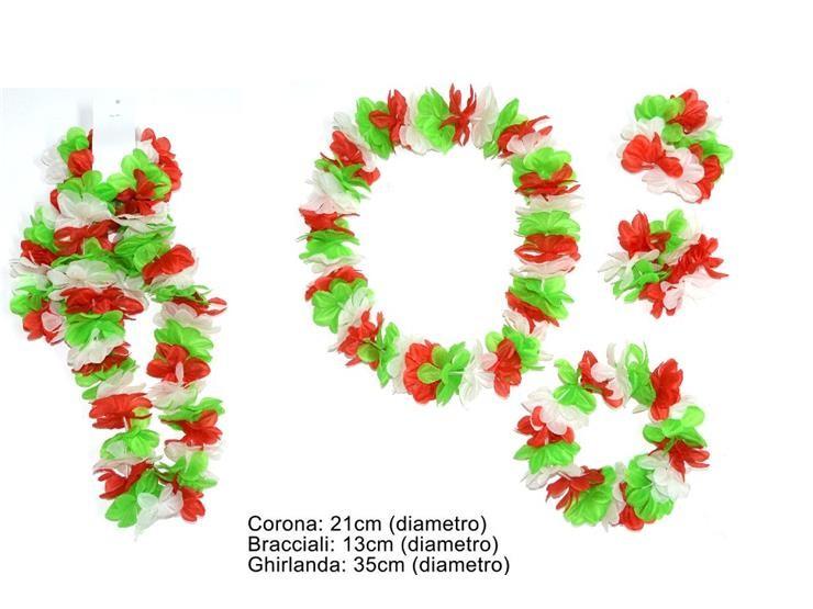 COLLANA+CORONA+BRACC. FIOR. ITALIA BS-02272