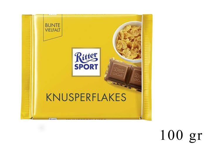 *RITTER SPORT KNUSPER FLAKES 100GR@