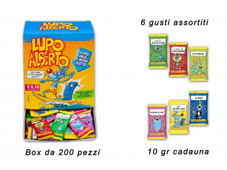 LUPO ALBERTO ACTIVATION 10 GR